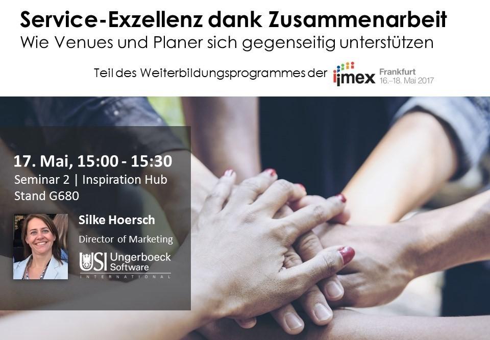 Service Exzellenz Vortrag Silke Hoersch IMEX17