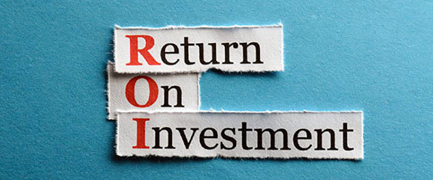 Measure your return on investment