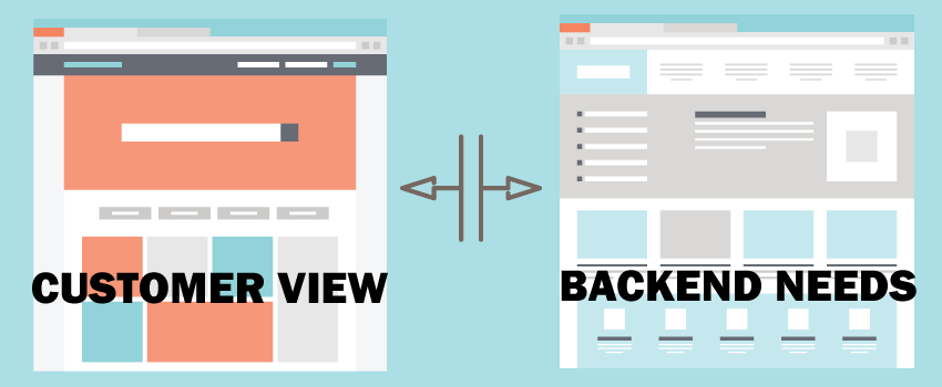 Front End Offerings vs Backend Functionality